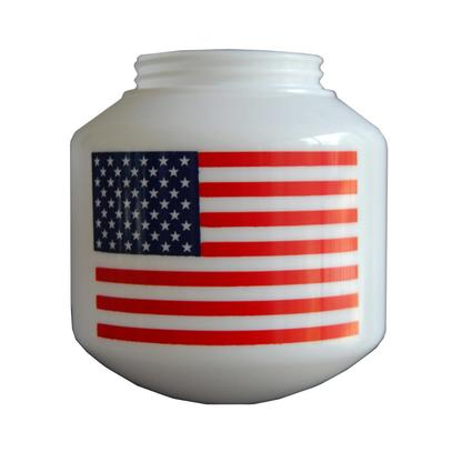 US Flag Replacement Globes, 6-Pack