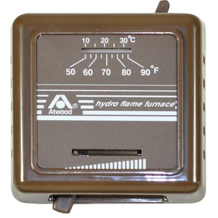 Atwood Hydroflame Analog Thermostat - Brown