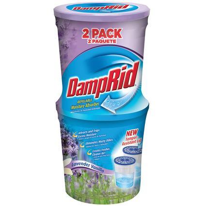 DampRid Moisture Absorber Lavender Vanilla 2-Pack