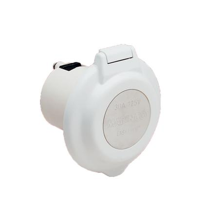 30A 125V Contoured Power Inlet