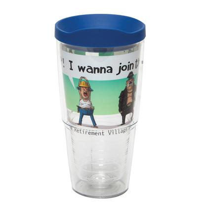 Retirement Village - 24 oz Tervis Tumbler