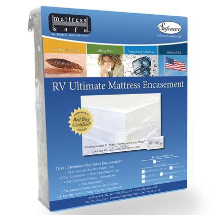 Sofcover Ultimate Total Mattress Encasement by Mattress Safe, RV Ultimate Queen/Short Queen