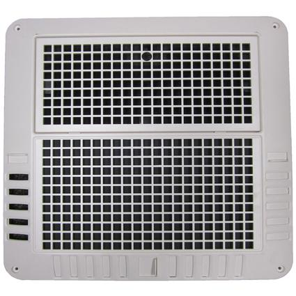 Coleman-Mach ChillGrille for Air Conditioner, Cool Only, Lateral Ducts, White