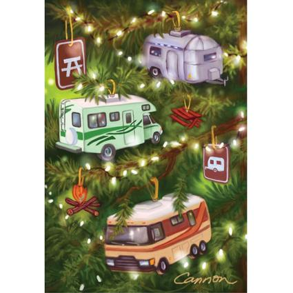 Limited Edition RV Christmas Cards - Decorated Tree