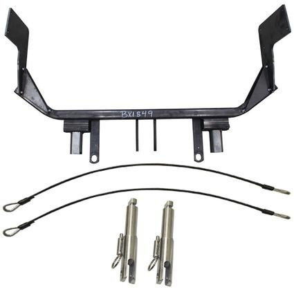 Blue Ox Tow Bar Baseplates - Fits Nissan Sentra