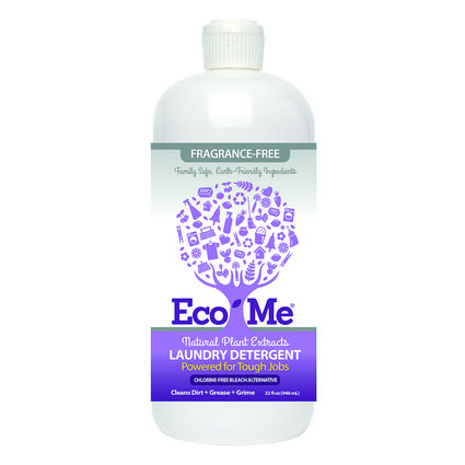 Eco-Me Laundry Detergent, 32 oz. - Fragrance Free