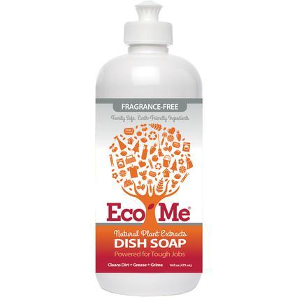 Eco-Me Dish Soap, 16 oz. - Fragrance-Free