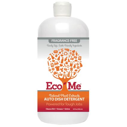 Eco-Me Fragrance-Free Auto Dish Soap, 32 oz.
