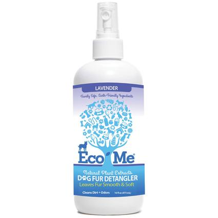 Eco-Me Dog Fur De-Tangler, 16 oz. - Lavender