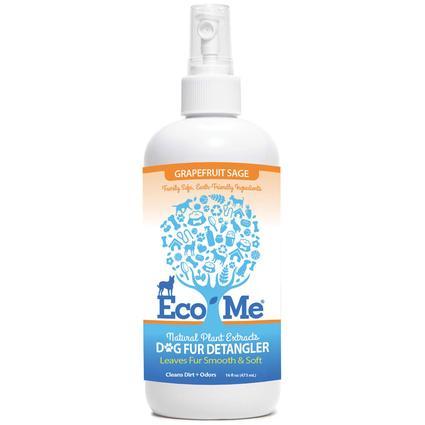 Eco-Me Dog Fur De-Tangler, 16 oz. - Grapefruit Sage