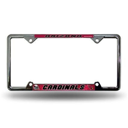 Fanmats License Plate Frame - Arizona Cardinals