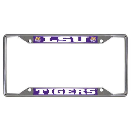 Fanmats License Plate Frame - LSU