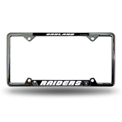 Fanmats License Plate Frame - Oakland Raiders