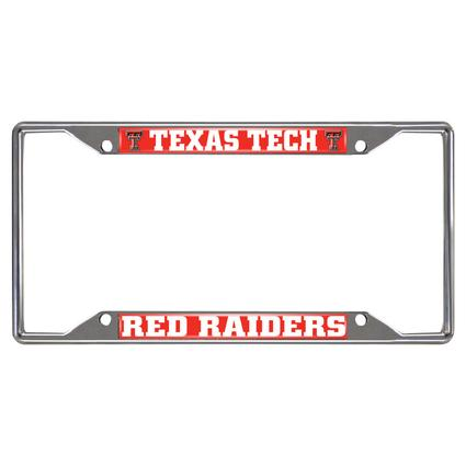 Fanmats License Plate Frame - Texas Tech