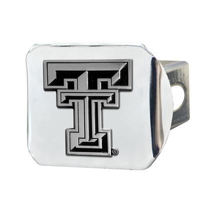 Fanmats Hitch Receiver Cover - Texas Tech