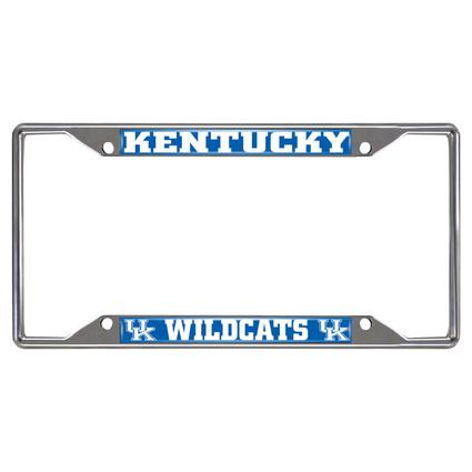 Fanmats License Plate Frame - University of Kentucky