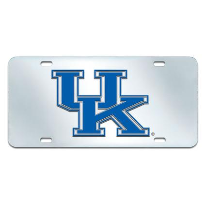 Fanmats Mirrored Team License Plate - University of Kentucky