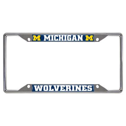 Fanmats License Plate Frame - University of Michigan
