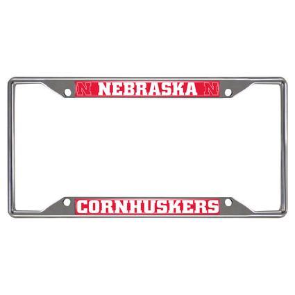 Fanmats License Plate Frame - University of Nebraska