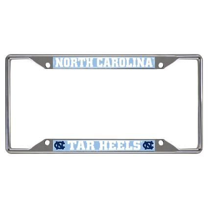 Fanmats License Plate Frame - University of North Carolina