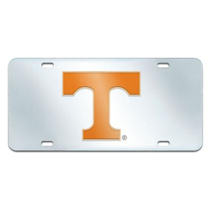 Fanmats Mirrored Team License Plate - University of Tennessee
