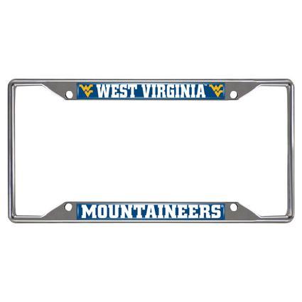 Fanmats License Plate Frame - WVU