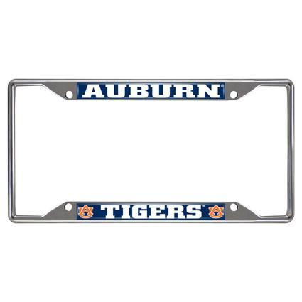 Fanmats License Plate Frame - Auburn