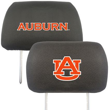 Fanmats Head Rest Covers, Set of 2 - Auburn