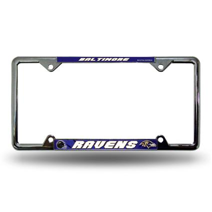 Fanmats License Plate Frame - Baltimore Ravens