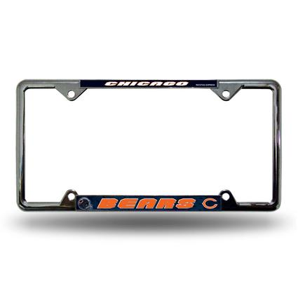 Fanmats License Plate Frame - Chicago Bears