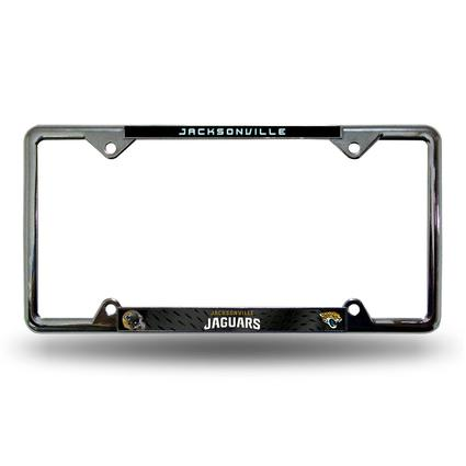 Fanmats License Plate Frame - Jacksonville Jaguars