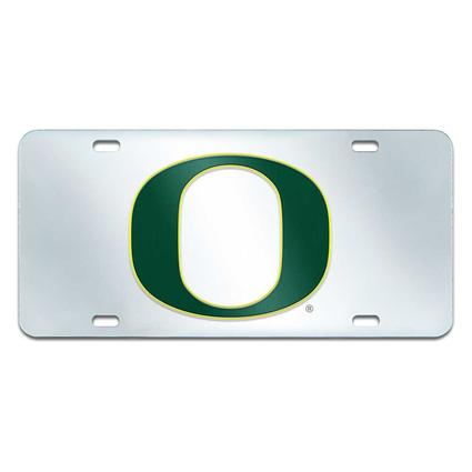 Fanmats Mirrored Team License Plate - University of Oregon