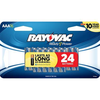Alkaline AAA Battery, 16 Pack