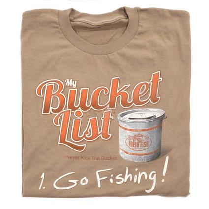 Men's Bucket List Tee - X Large