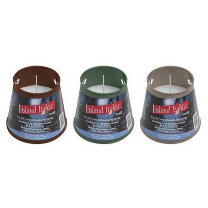 Wind-Resistant Citronella Candle