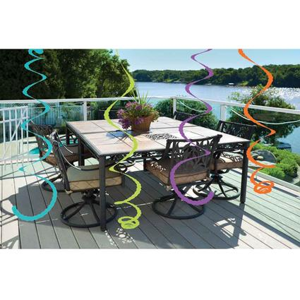 Citronella Plus Streamers, Set of 4