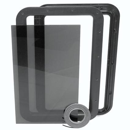 Clear View Entry Door Window Kit