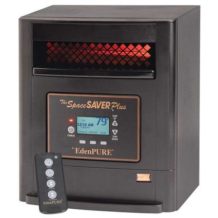 SpaceSAVER Plus by EdenPURE Infrared Heater & Air Purifier