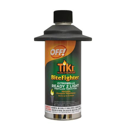 TIKI Ready to Light Citronella Refill, 12 oz.