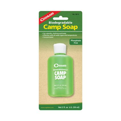 Biodegradable Camp Soap, 2 oz.