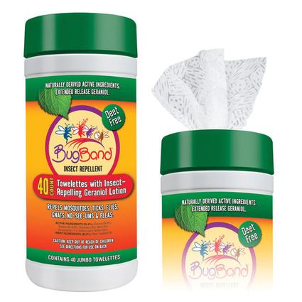 Bug Band Insect Repellent Towelettes