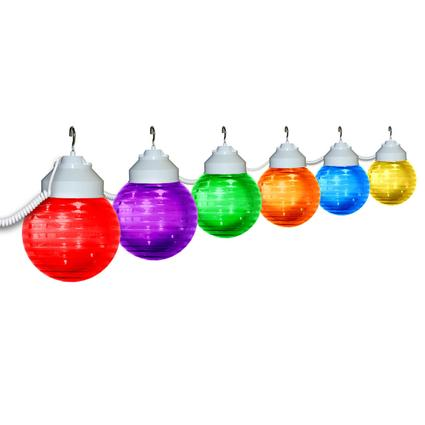 Multicolor Globe Lights