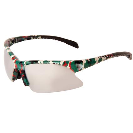 Camo Mirrored Sport Sunglasses