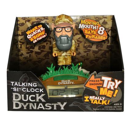 Duck Dynasty Talking Clock