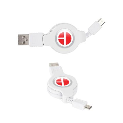 Retractable USB to Micro USB Cable