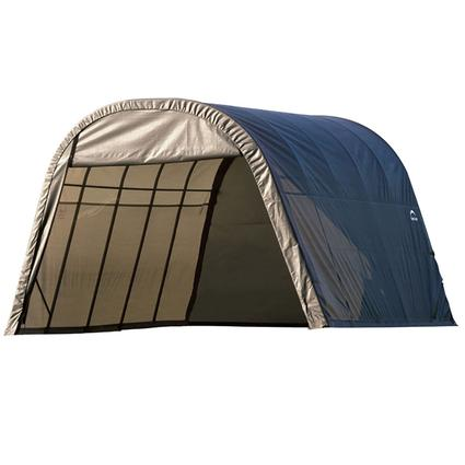 Round Style Shelter 13 x 20 x 10 Gray Cover