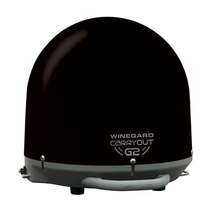 Winegard Carryout G2 Automatic Portable Satellite Antenna, Black