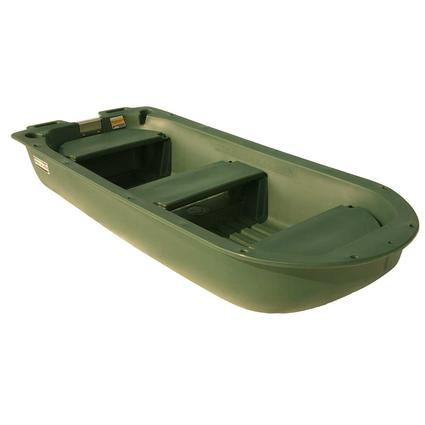 Boat and Rooftop Cargo Box, Green