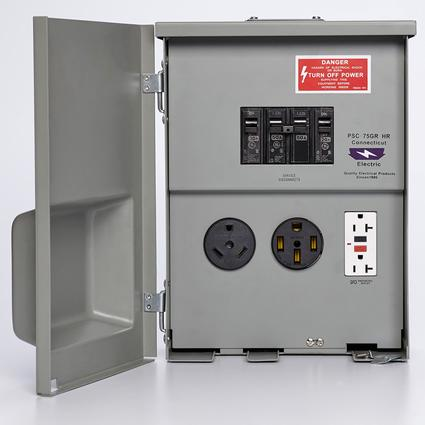 Rv electrical boxes 50 amp