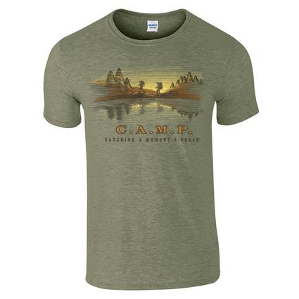 Camp Hike Tee, Large